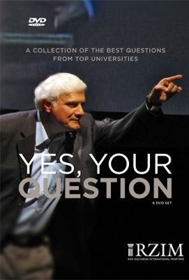 Yes, Your Question - 6 DVD Set / Ravi Zacharias / A Collection of the Best Questions From Top Universities