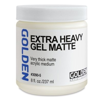 Heavy Gel - Golden Acryl Med 8 Oz Heavy Gel Semi-Gloss