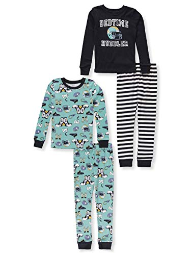 Carter#039s Boys#039 4 Piece Cotton Sleepwear