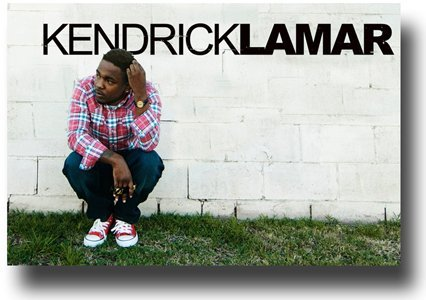 Kendrick Lamar Poster Promo for the Kid Done Good Album - Wall Promo