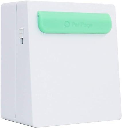 Zyj-Photo printer Impresora inalámbrica de Bolsillo Mini portátil ...