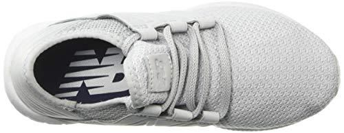 New Balance Women's Cruz V2 Fresh Foam Running Shoe Light Aluminum/Arctic Fox 5 B US by New Balance (Image #8)