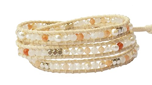 cultured-freshwater-white-pearl-orange-agate-crystal-leather-wrap-bracelet-3-wraps-3mm-bead