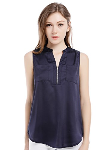 Blooming Jelly Womens Sleeveless Blouse