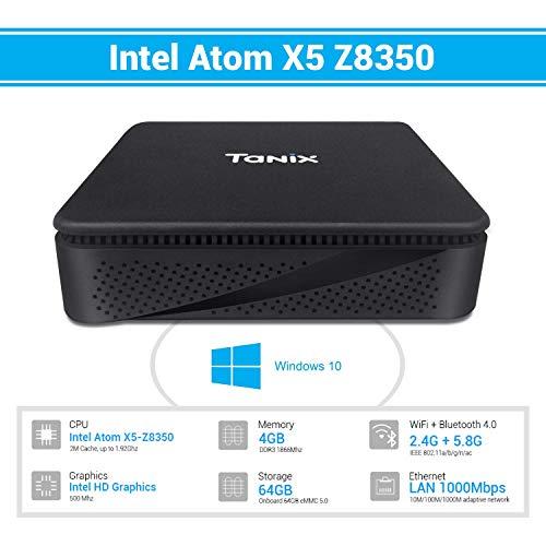 TaNix TX85 Mini PC,Windows 10 Pro Intel Atom x5-Z8350