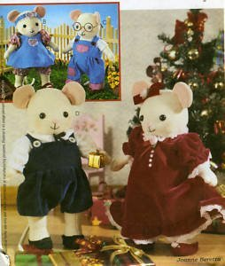 Mouse Pattern - UNCUT & OOP McCALL'S CRAFTS 3475 ADORABLE 8