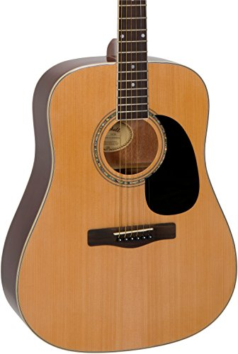 - Mitchell D120 Dreadnought Acoustic Guitar Natural