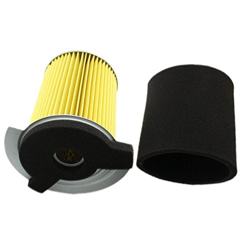 Pre Filter Part - HIFROM Air Filter with Pre Filter For Yamaha G1 2 Cycle 1978-1989 and Gas Golf Cart G14 4 Cycle 1995-1996 Replace J10-14417-00 JF7-14450-01