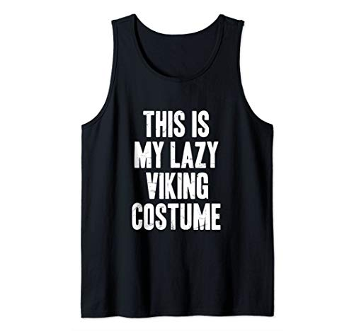 This is my lazy Viking costume halloween gift Tank Top