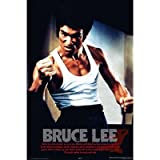 Bruce Lee Movie (Fist) Poster Print