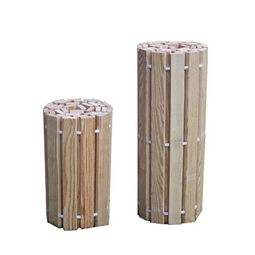 Kunkle Holdings LLC Pressure Treated Pine Outdoor 2 Foot Wide Roll Up Walkway 2 x 2 (Garden Walkways For Wooden)