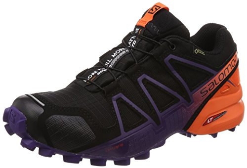 000 Trail Speedcross GTX Scarpe Donna W Running da Black 4 Purple Nero Salomon Nasturtium Parachute Ltd ZWUnCUx