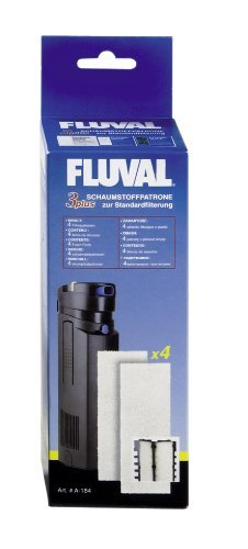 Fluval 3 Plus Foam Insert, (Underwater Filter Foam Insert)