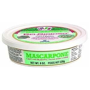 BelGioioso Mascarpone Cheese, 8 Ounce Cup - 12 per case.