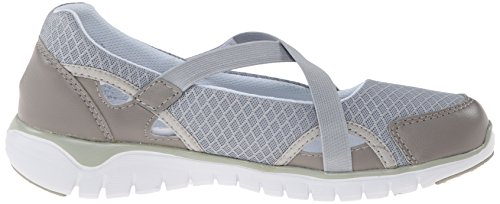 Propet W3254_w(d), Zapatillas para Mujer Gris (Silver)