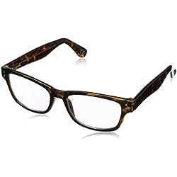 Foster Grant Conan Multifocus Glasses, Tortoise, 2.5
