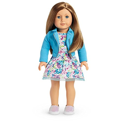 American Girl - 2017 Truly Me Doll with Light skin, Carmel hair, Blue Eyes - DN39 -