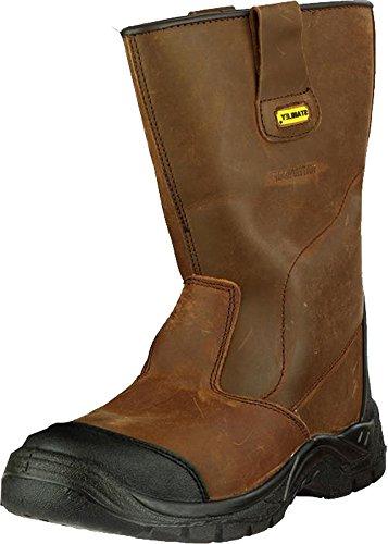 Stanley Ashland S3 Wasserfest Herren Schuhe zug Sicherheit Gummisohle Männlich Schuhe