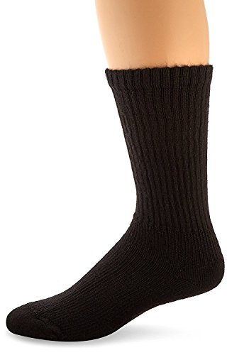 - BSN Compression Socks Sensifoot Crew Large Black (#110853, Sold Per Pair)