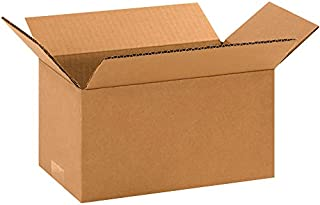 """product image for Partners Brand P1065 Corrugated Boxes, 10""""L x 6""""W x 5""""H, Kraft (Pack of 25)"""