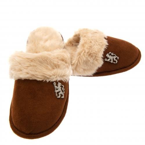 Chelsea Zapatillas Mujer Forro Polar todos los tamaños Slip en Mulas 100% oficial AFC