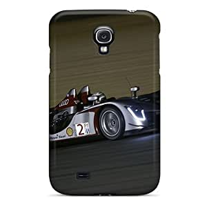 Galaxy S4 Hard Back With Bumper Silicone Gel Tpu Case Cover Audi R15 Le Mans Race Car
