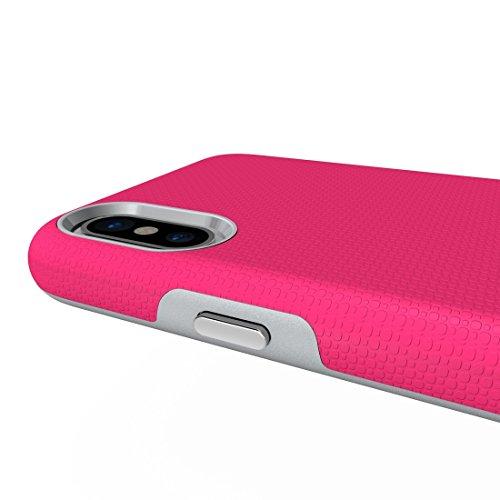 Mxnet IPhone X Case, Anti-Rutsch-Rüstung Schutzhülle Back Cover Shell ( Size : Ip8g8017m )