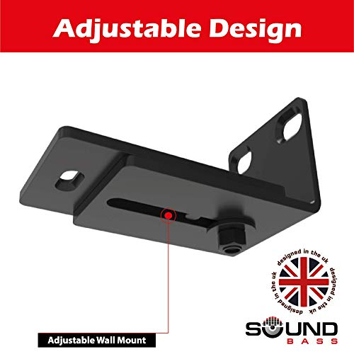Soundbar 500/700 & Soundtouch 300 Adjustable Wall Mount Kit for Bose Sound  bar 500 & 700 + Sound Touch 300 with Mounting Accessories, Designed in The