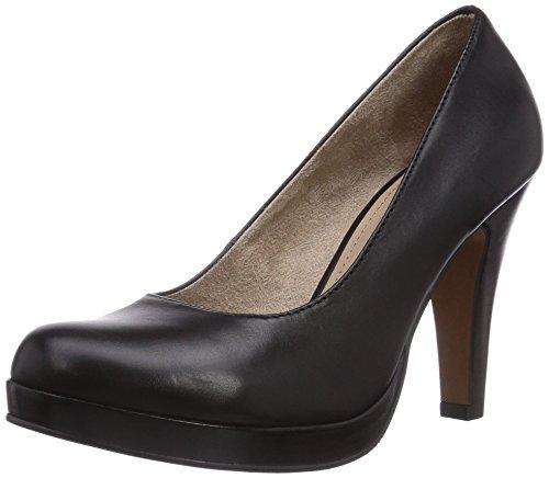 à couvert Noir femme talons Chaussures Noir du s Oliver pieds 22416 Avant qvB8wtRA