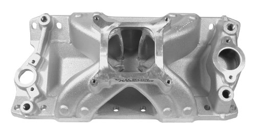 (Wilson Manifolds 128250 Super Victor Intake Manifold for Small Block Chevy)