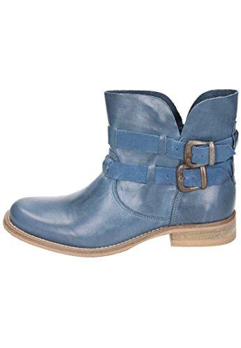 5 Blau Halbschuhe Damen Leder Piazza Navy 961313 Stiefel WYPwF0q5