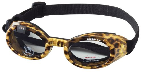 Doggles ILS X-Small Leopard and Smoke Lens, My Pet Supplies