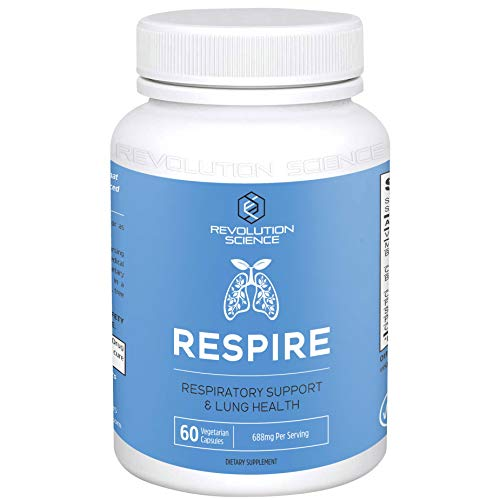 Lung Cleanse and Detox & Lung Support Supplement – Respire – Natural Allergy Relief & Respiratory Decongestants for…