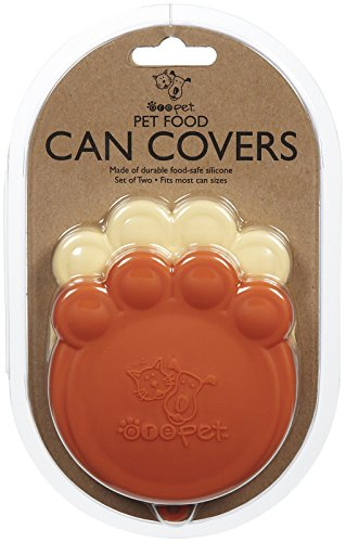 ORE Pet Pet Can Cover - Orange & Red - 2 count