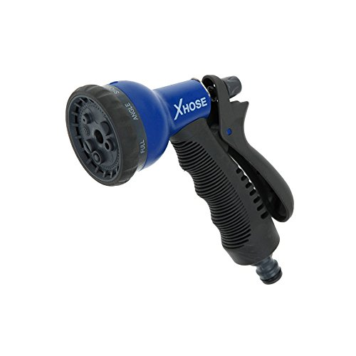 New Xhose 8 Speed Spray Nozzle 8 Different Mode Connects To Standard Garden Hose