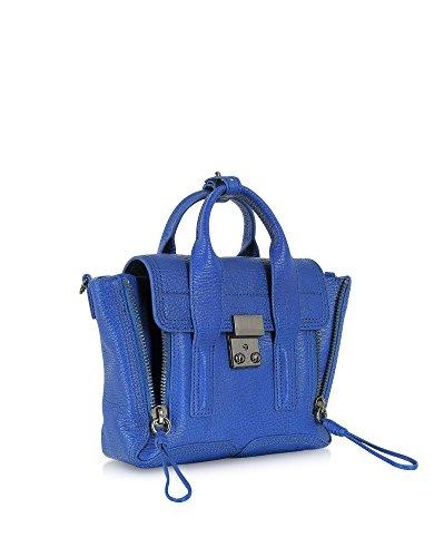 3.1 Phillip Lim Borsa A Mano Donna AP130226SKC Pelle Blu