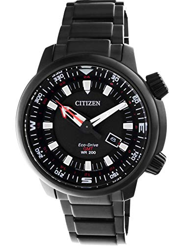 Men's Citizen GMT Power Reserve 200 M Diver's Watch BJ7085-50E ()