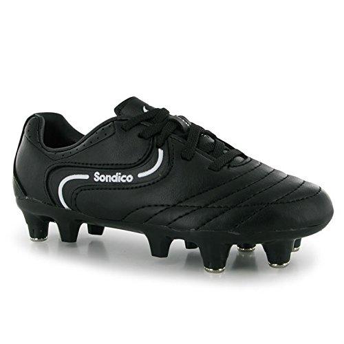 Sondico Herenstaking Ii Sg Voetbalschoenen Sportschoenen Schoeisel Zwart / Wit