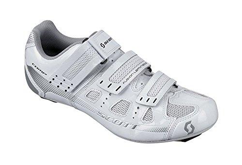Scott Sports 2016 Women's Comp Road Cycling Shoe - 238879-2979 (white gloss - 37.0) by Scott
