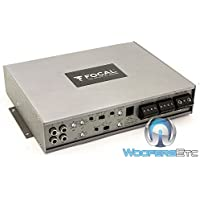 FPD 600.4 - Focal 4-Channel 800W RMS Amplifier (Manufacturer Refurbished)