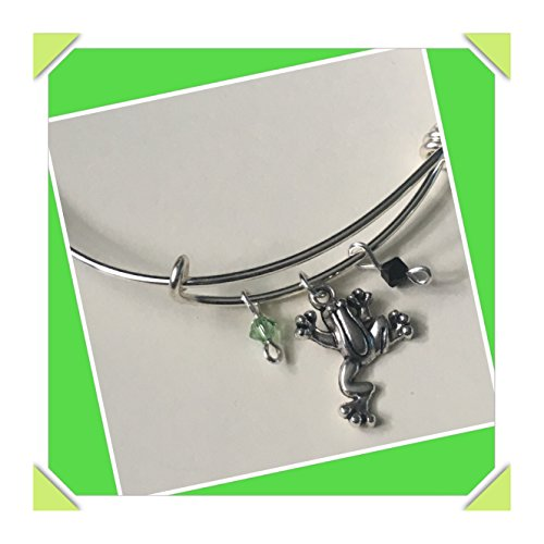 Tree Frog charm - Bracelet Dragonfly Crystal