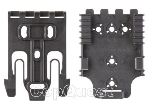 (Safariland Kit1 QLS For Holsters,, 1 QLS Fork &, 1 QLS 22 For Holsters, Coyote Brown, Single Kit)