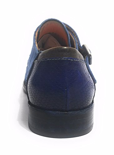 Lorenzi, Mænd Snøre Brogues Blå Blu Olimpia