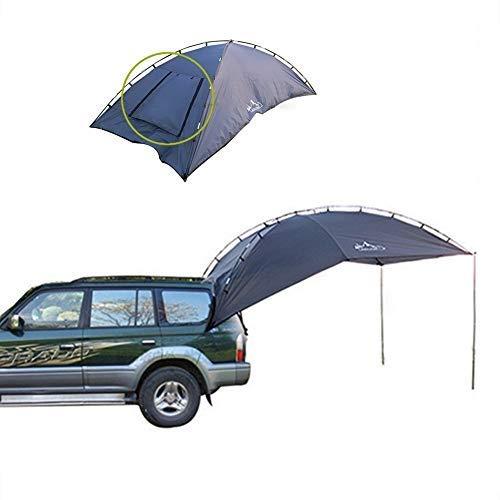 EGECL Car Tent - Folding Sunshade Carports - Anti-UV Roof Top Tent - Car Sun Shelter Awning - Hiking, Climbing, Fishing by EGECL (Image #7)