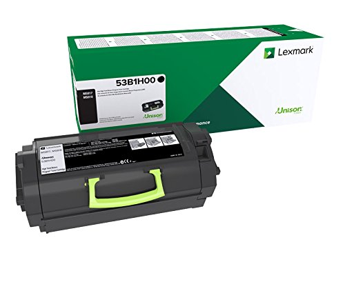 Lexmark 53B1H00 MS817n High Yield Return Program Toner Cartridge Toner