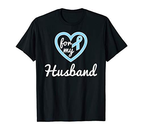 Prostate Cancer Shirts For Husband Ribbon Awareness Shirts -