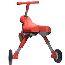 Fly Bike Foldable Toddlers Glide Tricycle Ride On Toy Scooter Bug - Non Scratch Wheels - No Setup Required - No Assembly Required-IT under CPC OF CPSIA