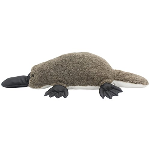 TAGLN Vivid Stuffed Animals Pillows Realistic The Platypus Lifelike Plush Toys Duckbill (17.7 Inch)]()