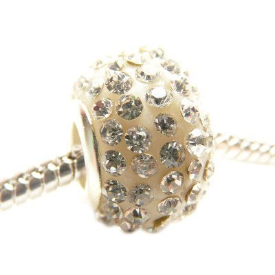 Hidden Gems (C445) Résine de base européenne & Brass perle de cristal