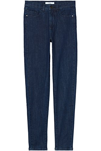 Jean FIND Haute Indigo Bleu Taille Skinny Femme FxwxqO